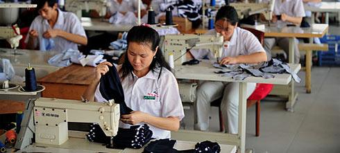 Производство одежды в Китае
