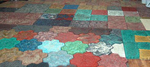 Мини-завод по производству тротуарной плитки из Китая