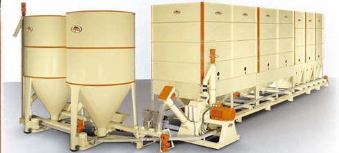 Мини-завод для производства комбикормов