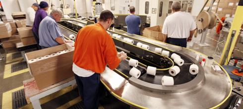 Мини завод по производству туалетной бумаги