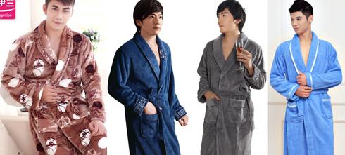 Доставка мужских халатов из Китая оптом