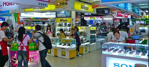 Рынки электроники в Китае