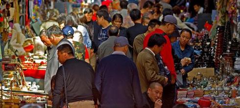 Вещевые рынки в Китае