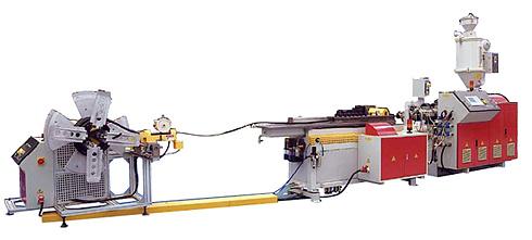 Линия для производства гофрированной трубы