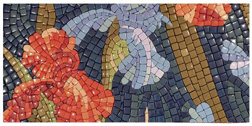 мозаичное панно из Китая